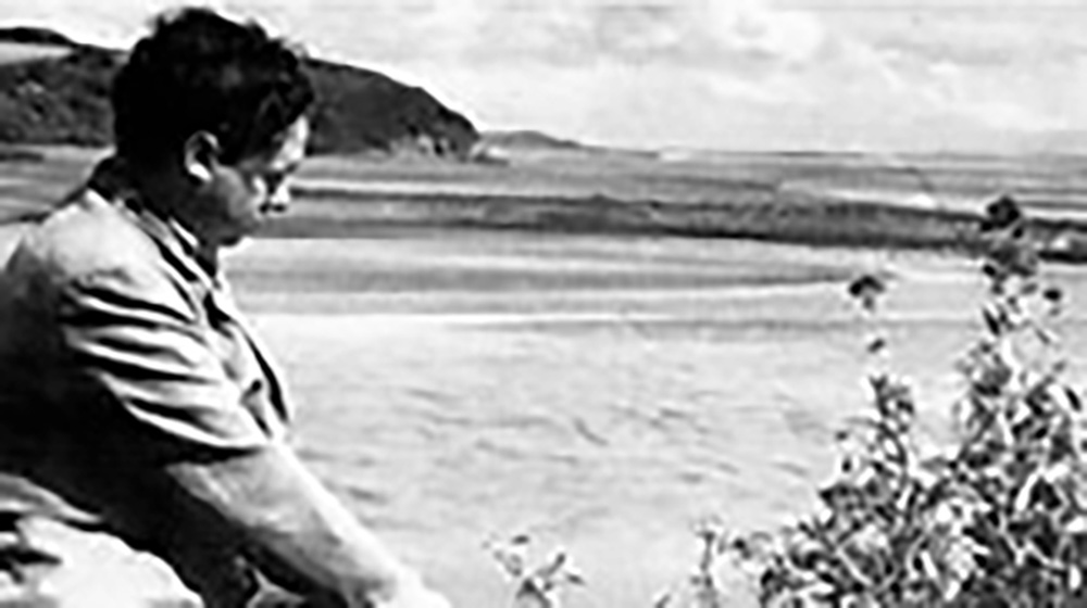 Dylan Thomas was Laugharne's most famous resident